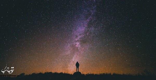 متن قشنگ درباره ی آسمان ، آسمان عاشق ، متن درباره آسمان و زمین