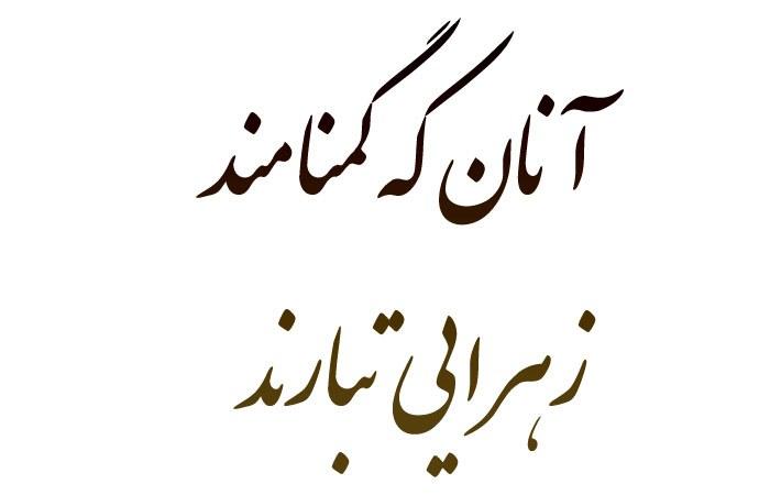 اشعار شهدای گمنام