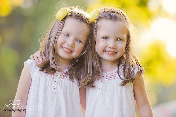 گلچین بهترین متن ها در مورد فرزند دوقلو
