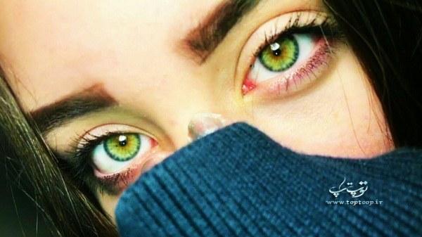 جمله های قشنگ در مورد چشم های زیبا به زبان انگلیسی