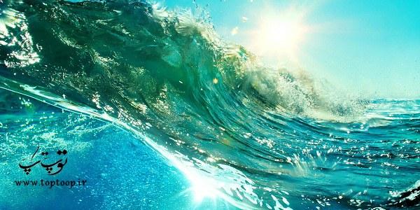 تعبیر خواب موج دریا به شکل سونامی