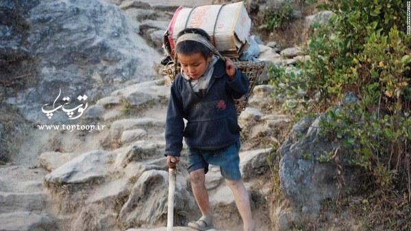 جملات ادبی و کوتاه در مورد کودکان کار