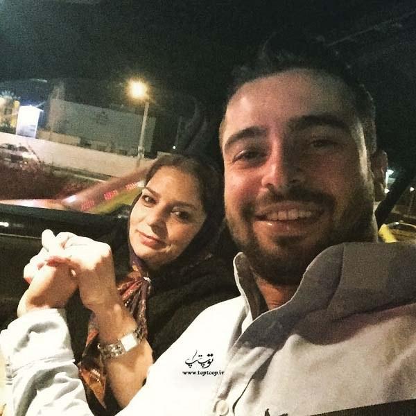 عکس سروش رفیعی با همسرش ، دست تو دست بودن سروش رفیعی با خانمش