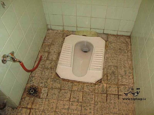 تعبیر خواب تمیز کردن توالت