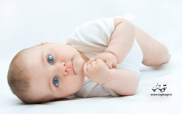 برای سفید شدن پوست نوزاد چه بخوریم