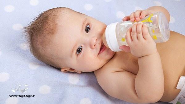 چه کنیم تا بچه شیر خشک را بخورد