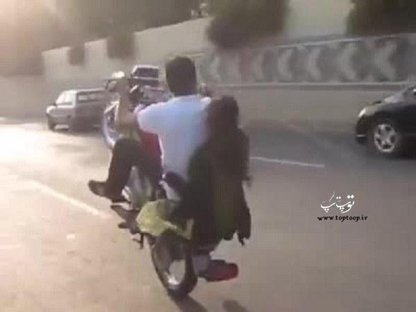تعبیر خواب تک چرخ زدن با موتور به همراه دوست دختر یا معشوق