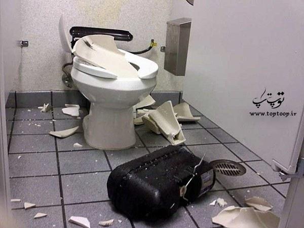 تعبیر خواب توالت شکسته