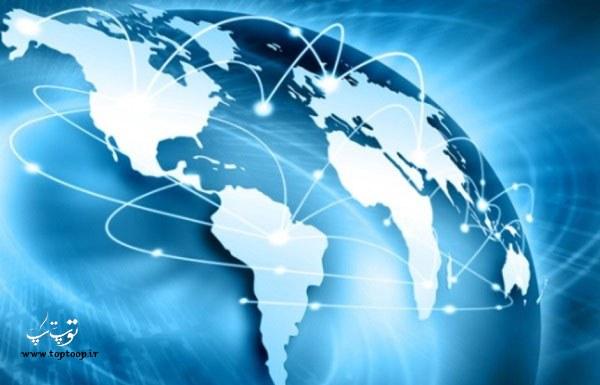 متن ساده انگلیسی درباره اینترنت ، تاریخچه ی اینترنت
