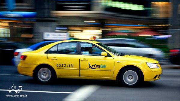 تعبیر خواب سوار تاکسی شدن ، تعبیر خواب تاکسی با رنگ های زرد و سبز ، تعبیر کرایه تاکسی