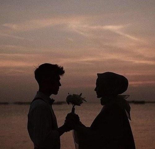 عکس پروفایل کنار دریا دونفره و عاشقانه