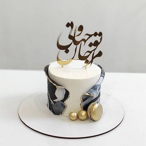 عکس کیک تولد مردانه شیک و جذاب