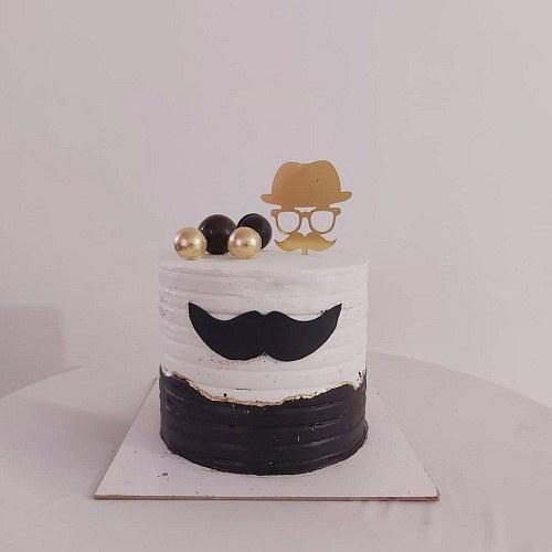 کیک تولد مردانه مدرن