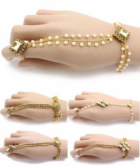 عکس دستبند دخترانه لاکچری