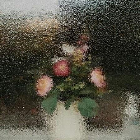 عکس پروفایل باران و گلدان
