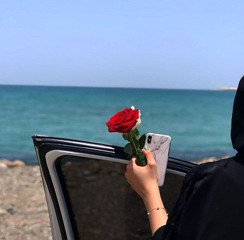 عکس پروفایل دختر ایرانی کنار دریا