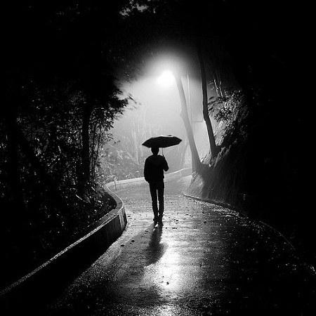 دلنوشته درمورد صدای باران