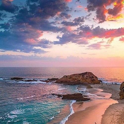 عکس پروفایل ساحلی