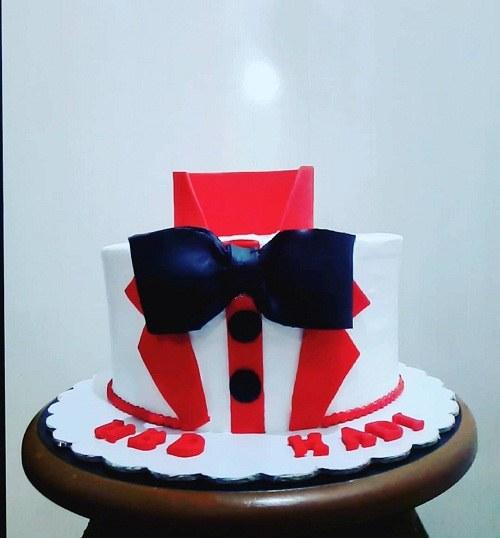 کیک تولد مردانه سفارشی