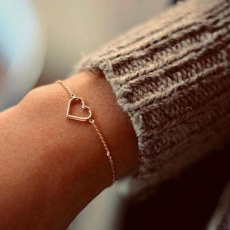عکس دستبند دخترانه طلا