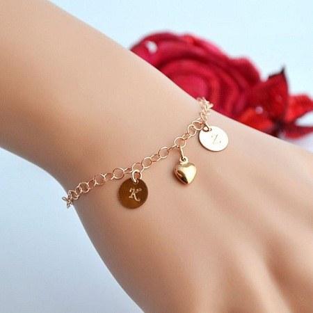 عکس دستبند دخترانه نقره
