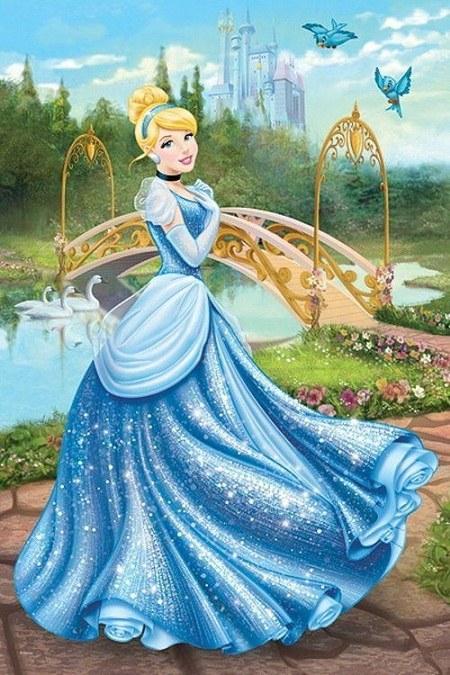 عکس نقاشی سیندرلا قشنگ