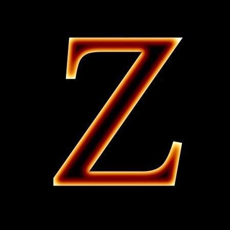 تصاویر حرف انگلیسی z