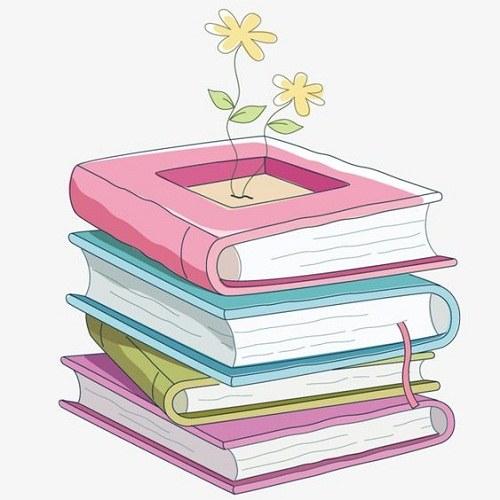 نقاشی های ساده راجب کتاب و کتابخوانی