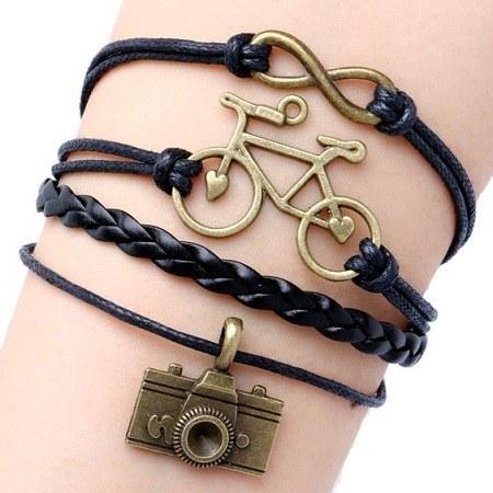 دستبند دخترانه شیک و جدید