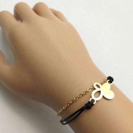 دستبند دخترانه استیل شیک
