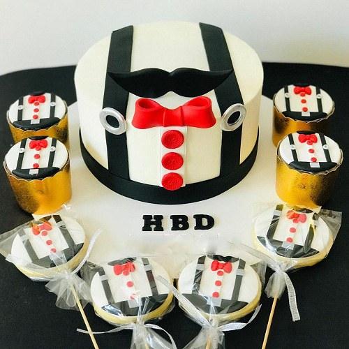کیک مردانه دلنشین