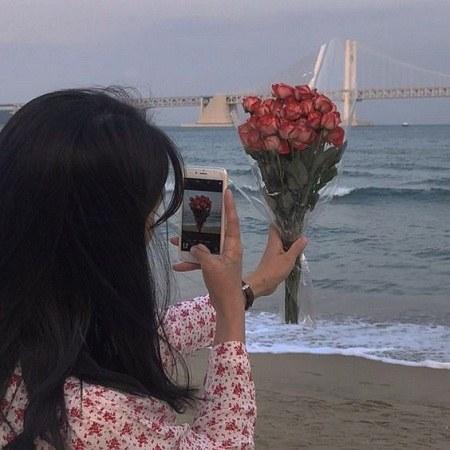 عکس پروفایل طبیعت و ساحل دریا دخترونه