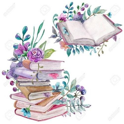 نقاشی کتاب خواندن