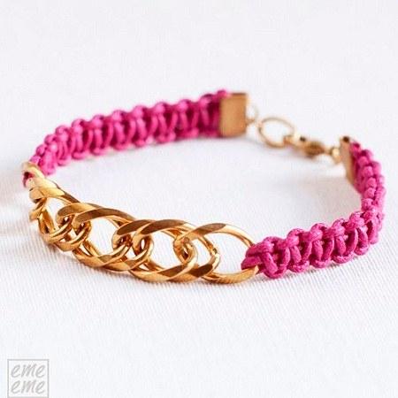 عکس دستبند دخترانه زنجیری