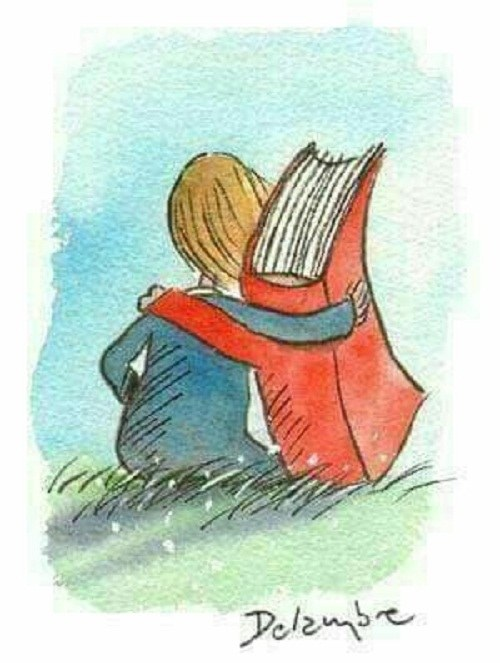 نقاشی کتابخوانی