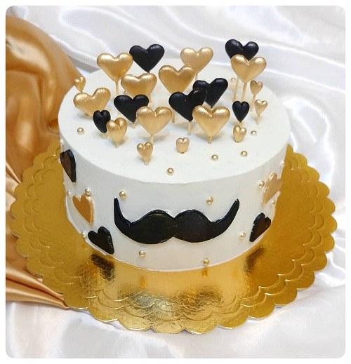 آلبوم عکس کیک تولد مردانه