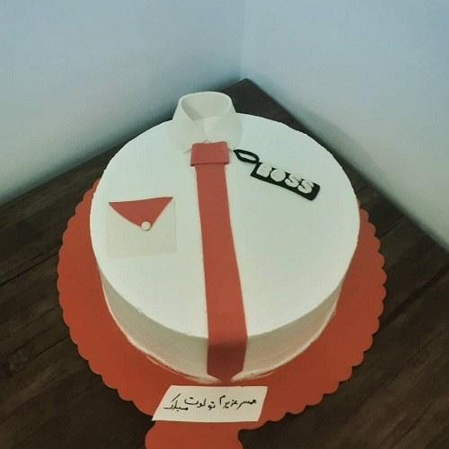 عکس کیک تولد مردانه برای همسرم