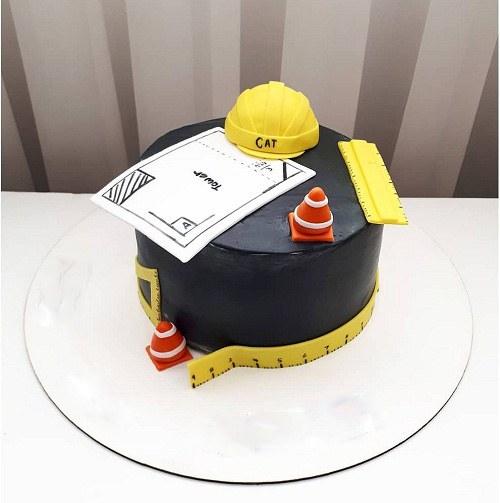 کیک تولد مردانه برای مهندس