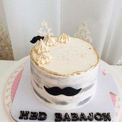 عکس کیک تولد مردانه باباجون