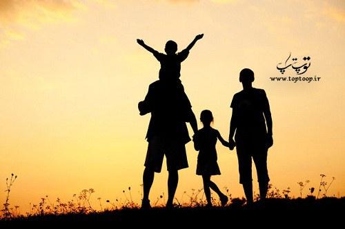 دلنوشته کوتاه عشق به خانواده