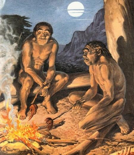 عکس زندگی انسان های نخستین