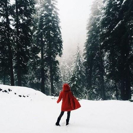 عکس پروفایل واتساپ دخترونه زمستانی 2021 جدید