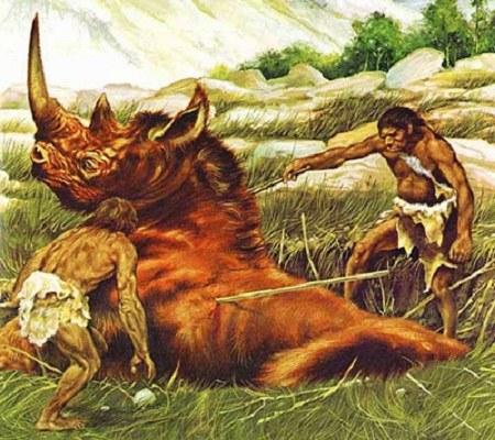 عکس انسان های اولیه واقعی