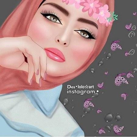 عکس پروفایل دخترونه برای واتساپ عروسکی
