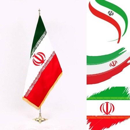 دانلود عکس پرچم ایران