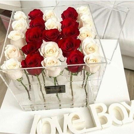 عکس حرف h با گل