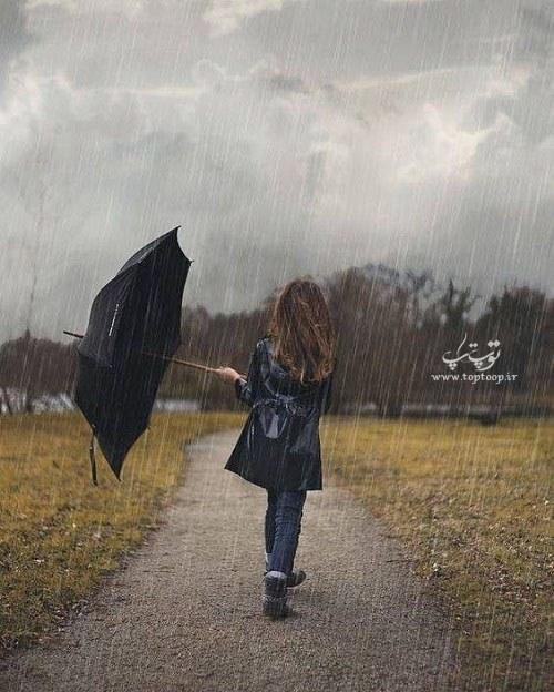 متن درباره بارش باران