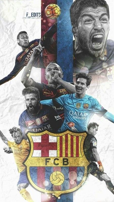 آلبوم عکس لوگو بارسلونا