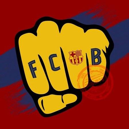 آلبوم عکس لوگوی بارسلونا