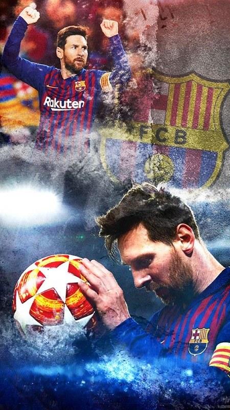 عکس لوگوی بارسلونا 2021 جدید